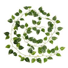 ivy home decor 2m artificial ivy leaf garland plants vine fake foliage flowers