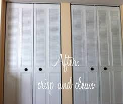 Pictures Of Closet Doors Spray Paint Closet Door Makeover For 21
