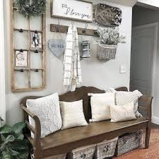 80 Stunning Rustic Farmhouse Entryway Decorating Ideas Homemainly