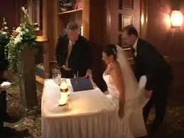wedding signing rob signing wedding ceremony