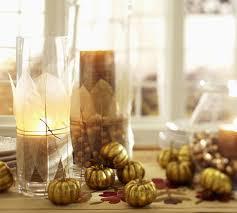 Brown Vase Fillers Gold Pumpkin Vase Filler Pottery Barn