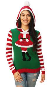 santa sweater sweater s santa hooded sweater