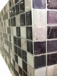 fancy fix vinyl peel and stick decorative backsplash kitchen tile