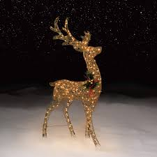 100 outdoor christmas reindeer decorations lighted 2016