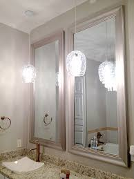 Pendant Lighting In Bathroom The Happy Homebodies Diy Pendant Light From Glass Vase