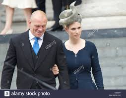 mike tindall and zara phillips leaving the s jubilee