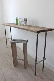 Room And Board Console Table Reclaimed Scaffolding Board Console Table Stuff Pinterest
