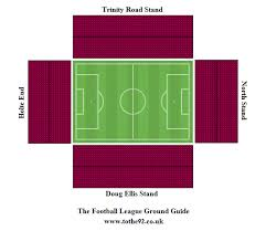layout of villa park football league ground guide aston villa fc villa park