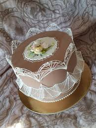 Royal Icing Decorations For Cakes 391 Best Stringwork Images On Pinterest Amazing Cakes Beautiful
