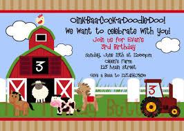 barnyard birthday invitations ideas bagvania free printable