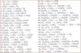 chemical equations worksheet tessshebaylo