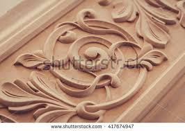 abstract wood carving wood processing joinery work wood carving stock photo 411494974