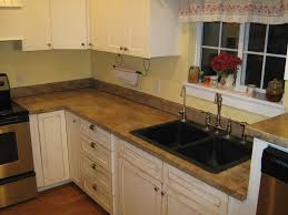 alternatives to granite countertops kitchen dark brown polished