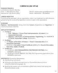 brilliant ideas of diploma mechanical engineering resume samples