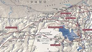 Map Of Idaho And Utah by Day 1 On The California Trail The Parting Of The Ways Old Age Is