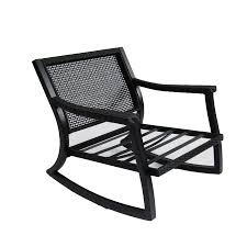 Outdoor Rocking Chair Cushion Sets Black Wicker Rocking Chair Design Home U0026 Interior Design