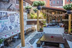 Nyc Backyard Best Spots For Backyard Cocktails Notes From The Wonder City