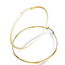 gold hoop earrings mm diameter hoop earrings in 14k yellow gold