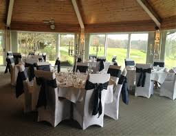 navy blue chair sashes wedding event chair covers sashes to hire carlisle cumbria