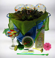 margarita gift set margarita party gift basket confetti swirl