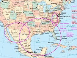 map of mexico and america mexico america map major tourist attractions maps