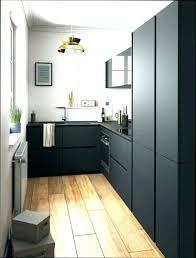cuisine noir bois cuisine noir mat cuisine obi cuisine l mat cuisine noir mat et bois