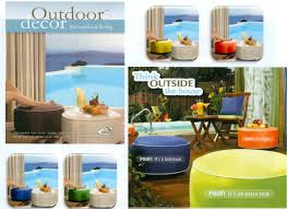 ottomans indoors outdoors inflatable the curtain shop