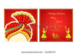 Indian Wedding Card Samples Indian Wedding Card Template Download Free Vector Art Stock