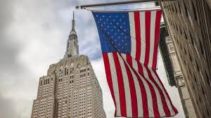 The Flag Of New York Südstaaten Der Usa Von New York Nach San Francisco In Vereinigte