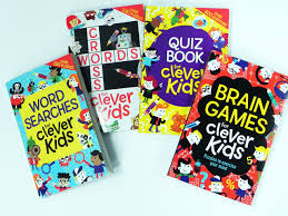 brain games for clever kids puzzles to exercise your mind gareth
