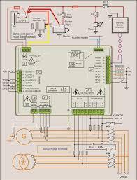 stamford generator connection diagram diesel generator control