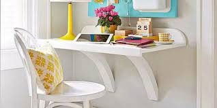 Diy Wall Desk Remodelaholic Simple Diy Wall Desk
