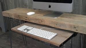 Wood Computer Desk 33 Stunning Reclaimed Wood Desks