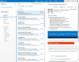 outlook web app android microsoft to update outlook web app with automatic clutter filter