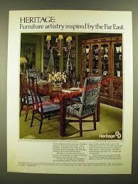 Drexel Heritage Dining Room Furniture 1978 Drexel Heritage Dynasty Collection Dining Room U0026 Occasional