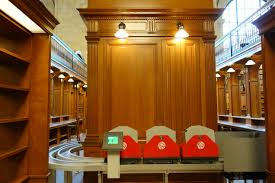 Basement Library At Ny Public Library Books Now Ride The Rails From The Stacks To