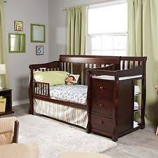 4 In 1 Convertible Crib With Changing Table Storkcraft Baby Portofino 4 In 1 Fixed Side Convertible Crib