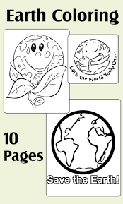 earth day mr earth day is very happy today coloring page earth