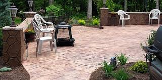 2017 Stamped Concrete Patio Cost How Much Does A Yard Of Concrete Cost Drinkatcalsbar Com