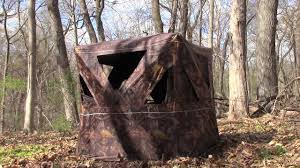 Tree Trunk Hunting Blind Turkey Hunting Tips Fine Tuning Your Ground Blind Setup For Bow