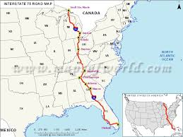 und cus map us interstate 75 i 39 map hialeah florida to sault ste