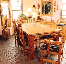 Southwestern Dining Room Furniture   nice decoration southwestern dining table sensational new mexico