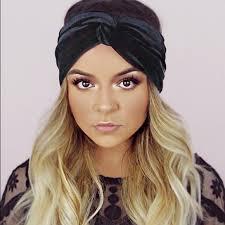 velvet headband accessories black velvet turban twist headband poshmark