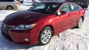 lexus es car new red on black 2015 lexus es 350 4dr sdn fwd touring package