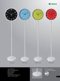 china home decor wholesale modern floor standing clocks for living