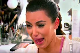 Crying Face Meme - kim kardashian says son saint has her same cry face people com