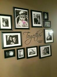 hanging picture frames ideas how to hang photos on wall without frames ideas hanging without