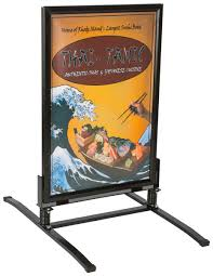 Sign Stands by Sidewalk Poster Stands Outdoor Sandwich Boards