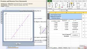 cara membuat grafik integral di excel least squares linear regression excel youtube