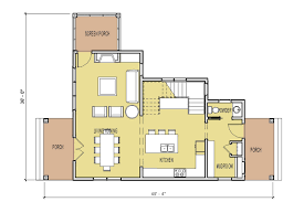 Cabin Layouts Plans by Small Home Designs Floor Plans